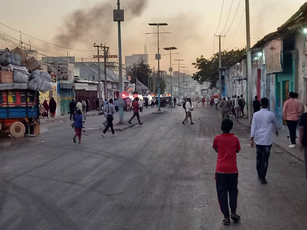 Somalia's al-Shabab rebels attack hotel in Mogadishu